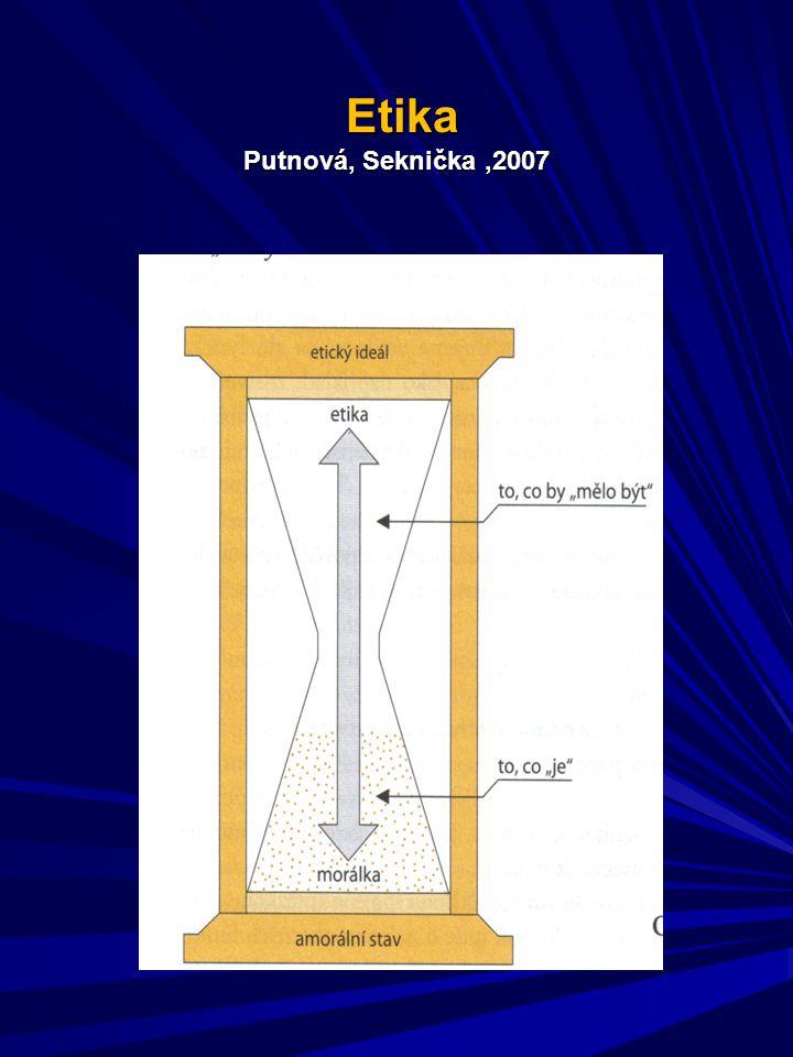 Etika Putnová, Seknička,2007 Etika Putnová, Seknička,2007