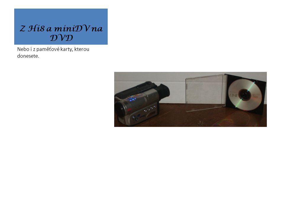 Z VHS na DVD