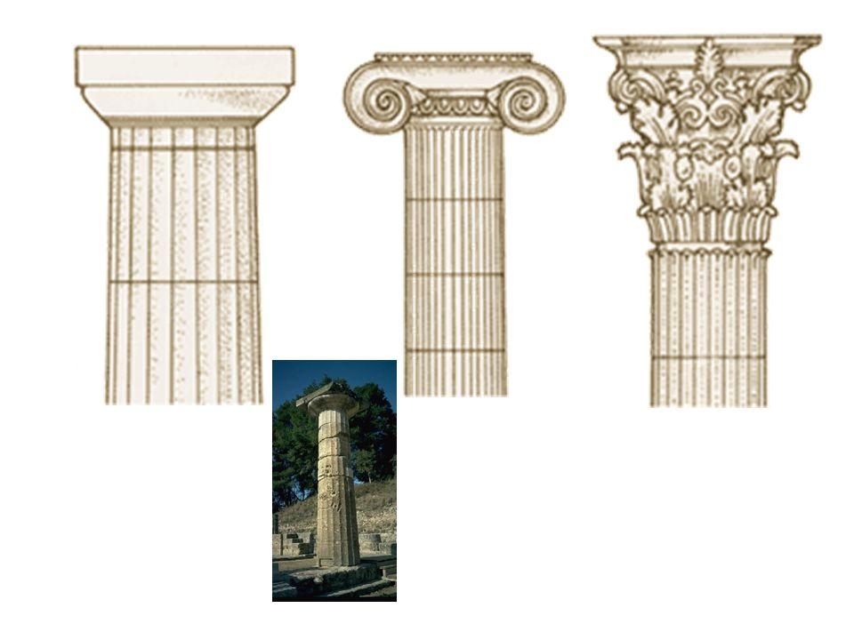 Další prvky dórského stylu Kladí Architráv Triglyf Metopa Štít