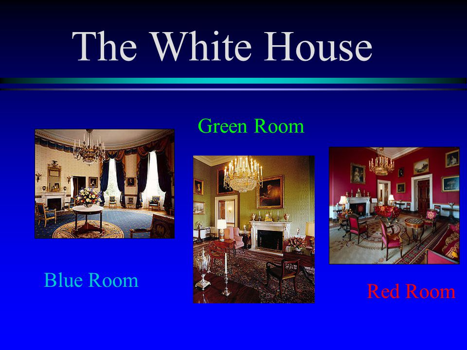 The White House the Oval Office (official office of the President) Cabinet Room (meeting room for the cabinet secretaries and advisors) Roosevelt Room (staff meetings) The West Wing