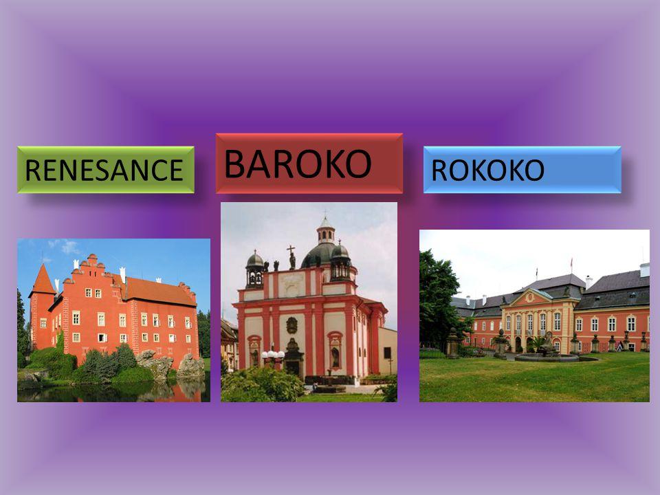 RENESANCE BAROKO ROKOKO
