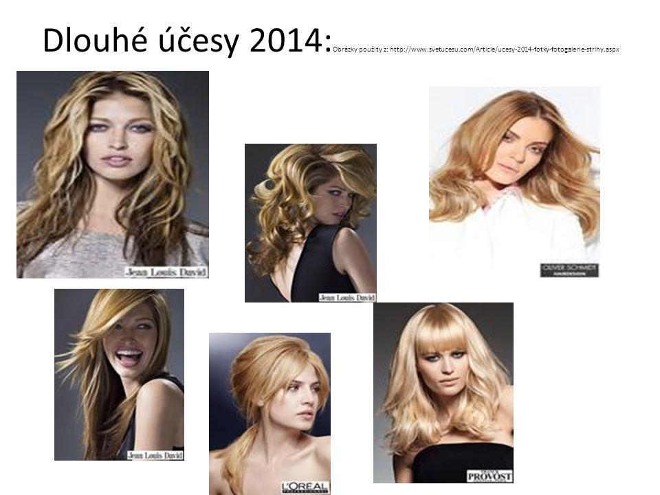 Dlouhé účesy 2014: Obrázky použity z: http://www.svetucesu.com/Article/ucesy-2014-fotky-fotogalerie-strihy.aspx