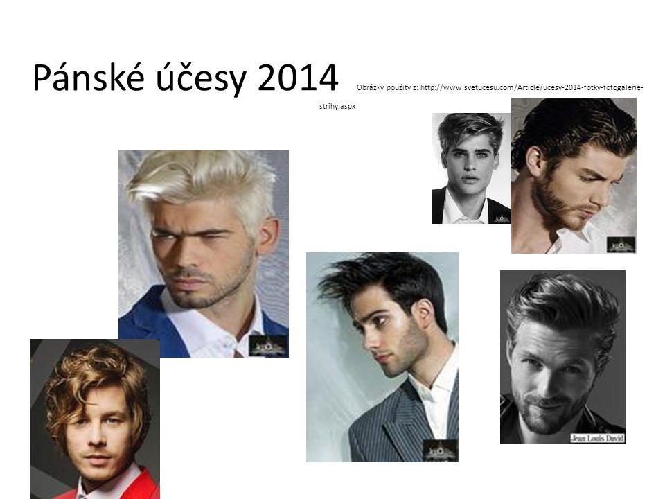 Pánské účesy 2014 Obrázky použity z: http://www.svetucesu.com/Article/ucesy-2014-fotky-fotogalerie- strihy.aspx