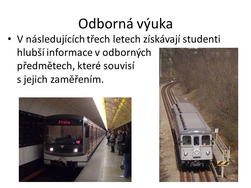 Předmět Městská doprava Seznamuje studenty s uspořádáním města a plánováním dopravy.