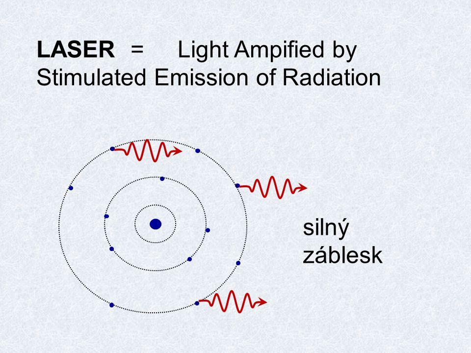 rádiové vlny mikrovlny IR záření viditelné světlo UV záření rentgenové záření gama záření přechody uvnitř valenční vrstvy přechody mezi vrstvami z jádra