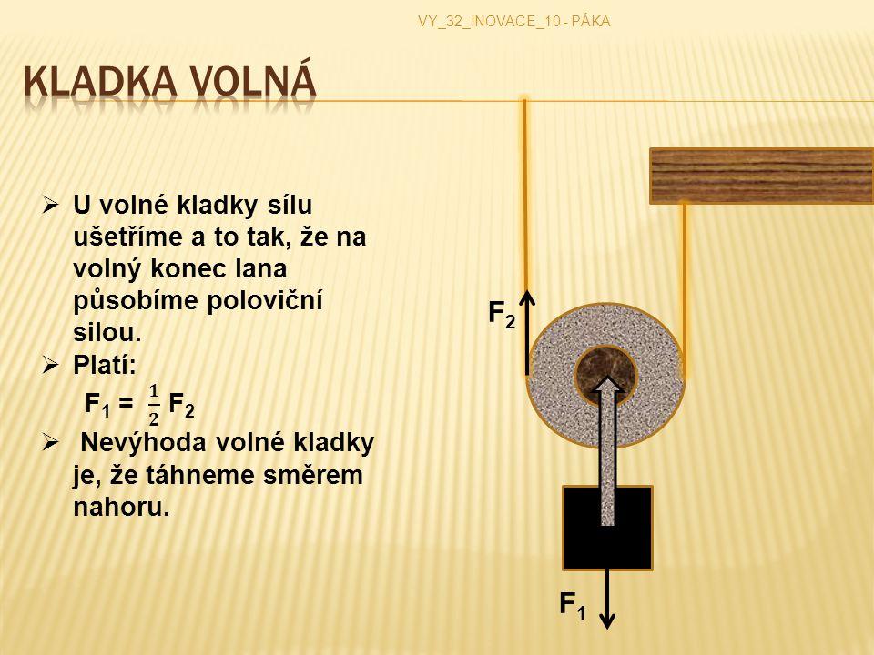 VY_32_INOVACE_10 - PÁKA F 2 F 1