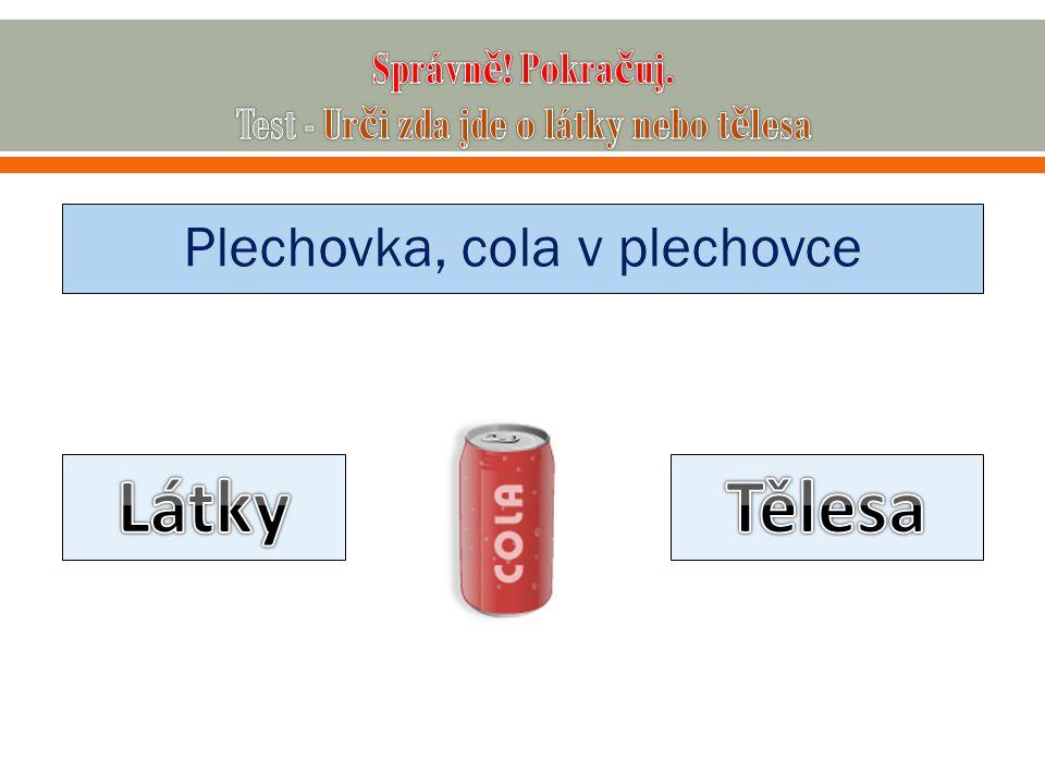 Plechovka, cola v plechovce