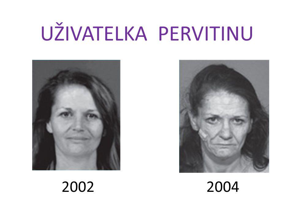 UŽIVATELKA PERVITINU 20022004