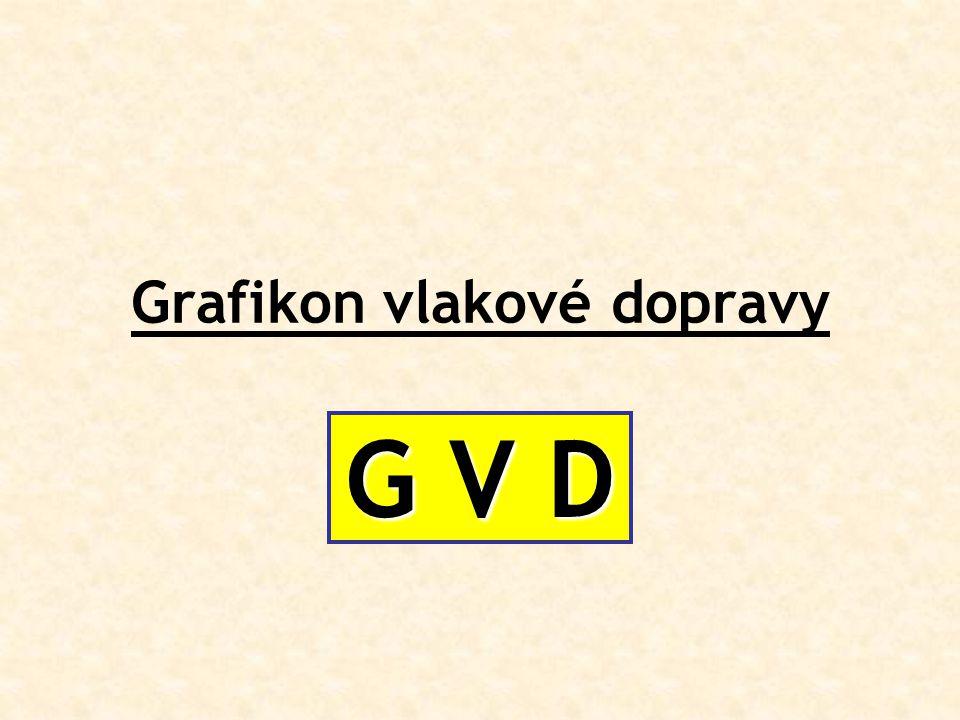 Grafikon vlakové dopravy G V D