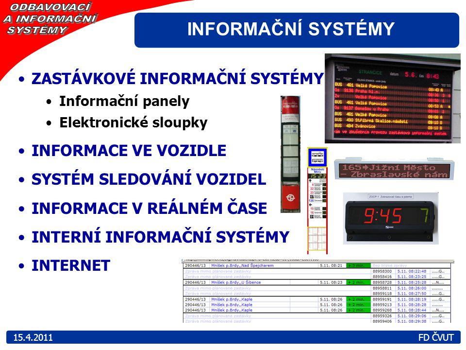 ZASTÁVKOVÉ INFORMAČNÍ SYSTÉMY Informační panely Elektronické sloupky INFORMACE VE VOZIDLE SYSTÉM SLEDOVÁNÍ VOZIDEL INFORMACE V REÁLNÉM ČASE INTERNÍ IN