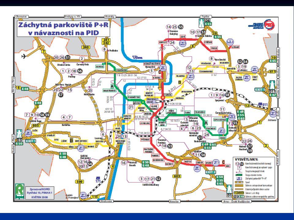 B + R (bike and ride) možnost odstavení jízdního kola při přestupu na MHD a ostatní hromadnou dopravu, možnost odstavení jízdního kola při přestupu na MHD a ostatní hromadnou dopravu, v Praze umožněno na všech parkovištích P + R v Praze umožněno na všech parkovištích P + R