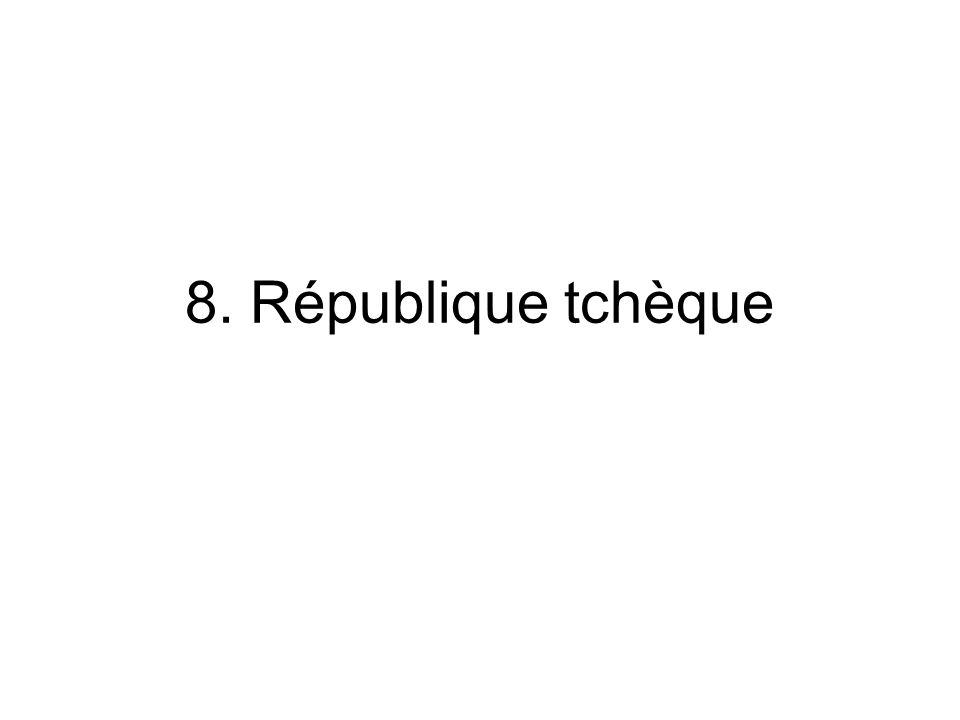 8. République tchèque