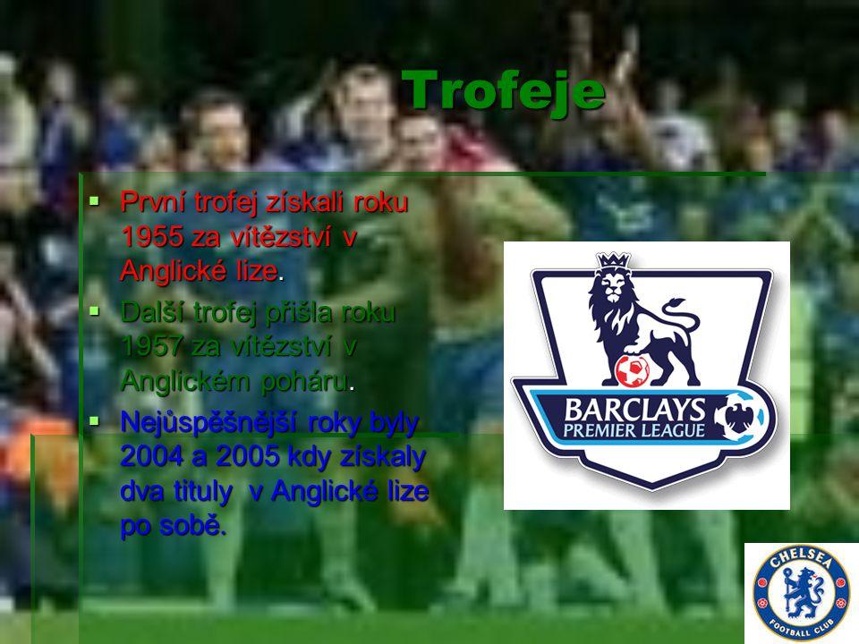 Trofeje Trofeje  První trofej získali roku 1955 za vítězství v Anglické lize.  Další trofej přišla roku 1957 za vítězství v Anglickém poháru.  Nejů