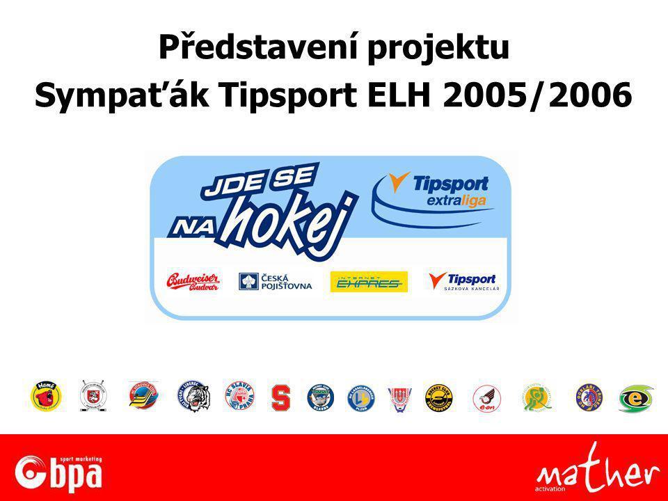 Představení projektu Sympaťák Tipsport ELH 2005/2006