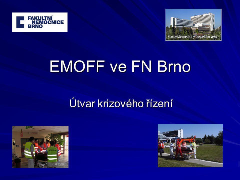 EMOFF ve FN Brno Útvar krizového řízení