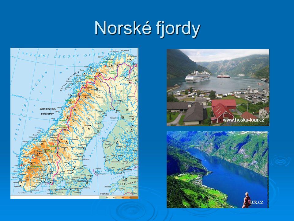 Norské fjordy www.hoska-tour.czi.ck.cz