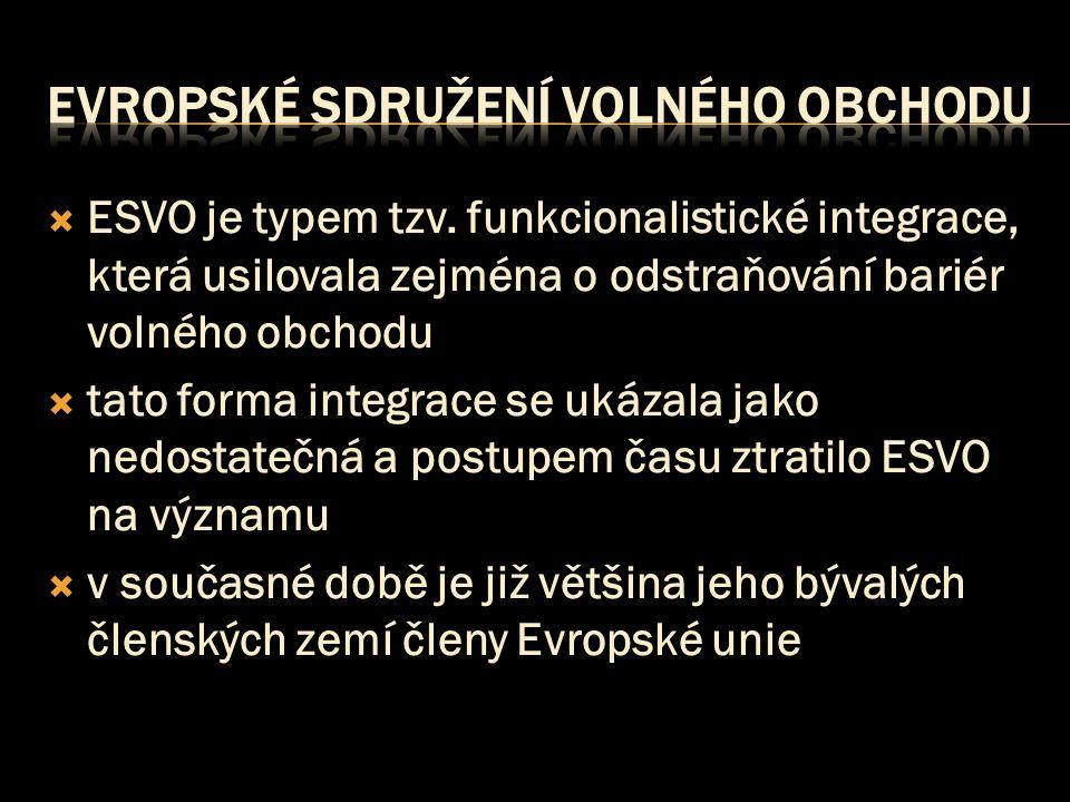  ESVO je typem tzv.