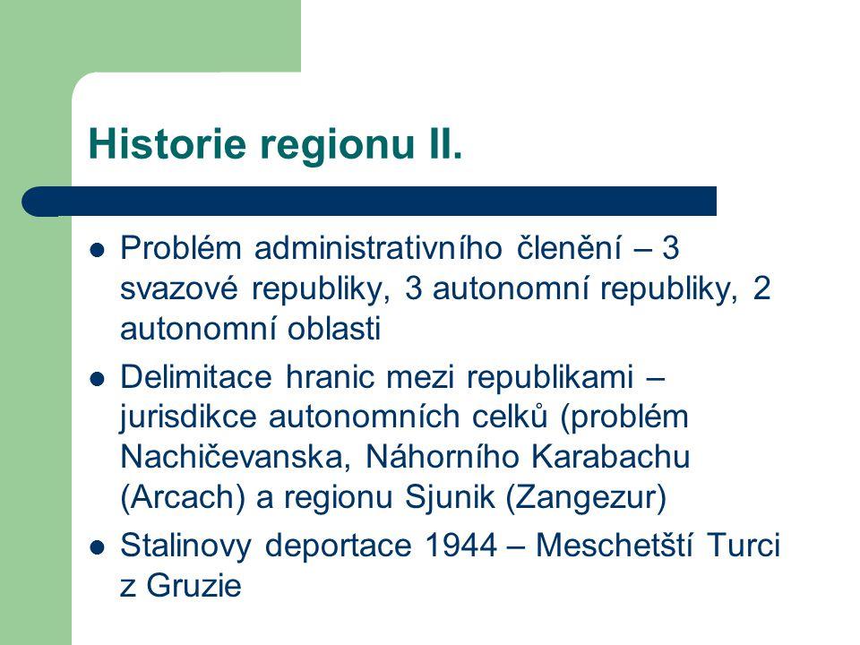 Historie regionu II.