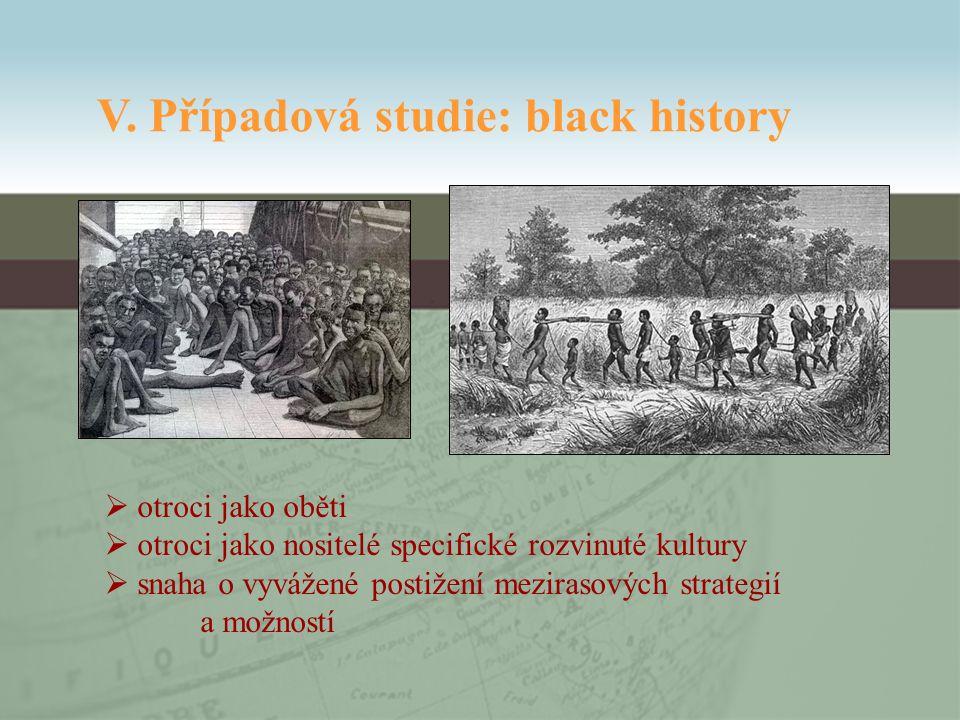  otroci jako oběti  otroci jako nositelé specifické rozvinuté kultury  snaha o vyvážené postižení mezirasových strategií a možností V.