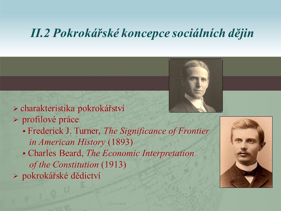 charakteristika pokrokářství  charakteristika pokrokářství  profilové práce  Frederick J.
