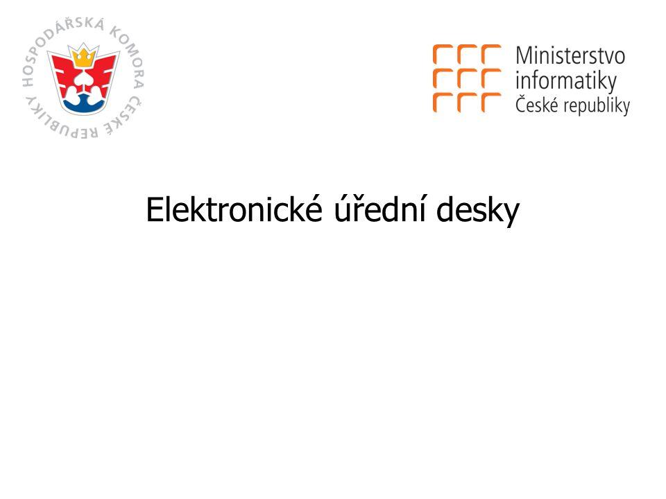 Elektronické úřední desky