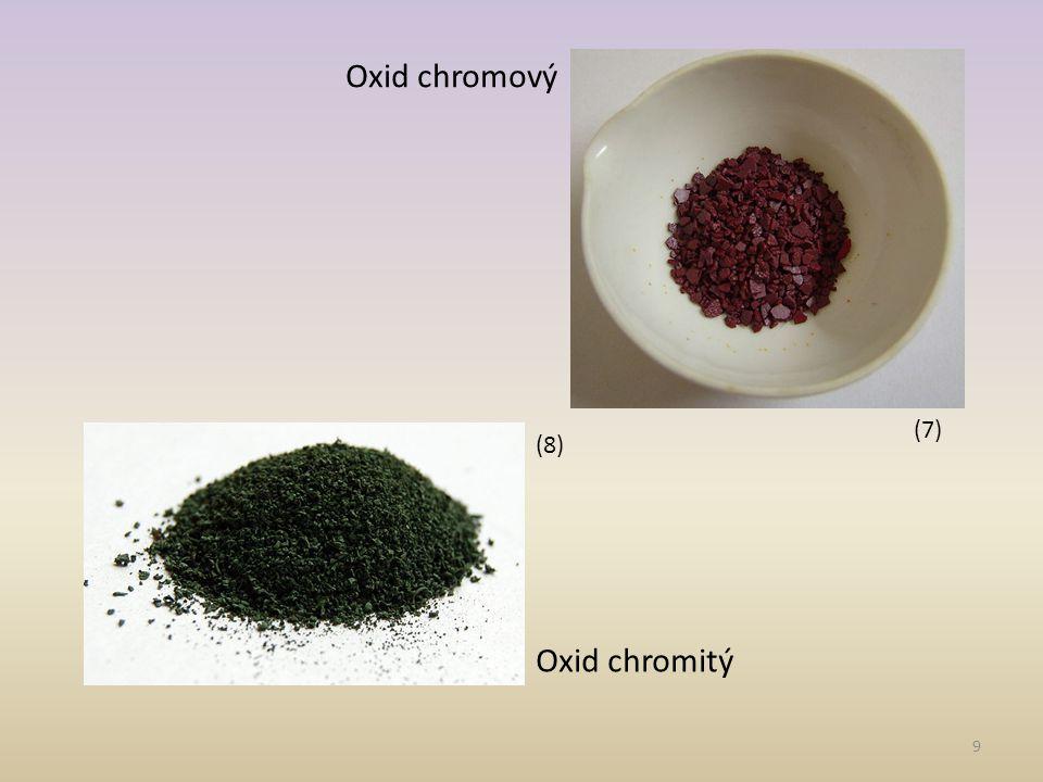 10 Mangan -v přírodě se vyskytuje jako minerál burel (MnO 2 ) -šedý, tvrdý, křehký kov -Použití- slitiny - výroba nárazuvzdorných a houževnatých ocelí
