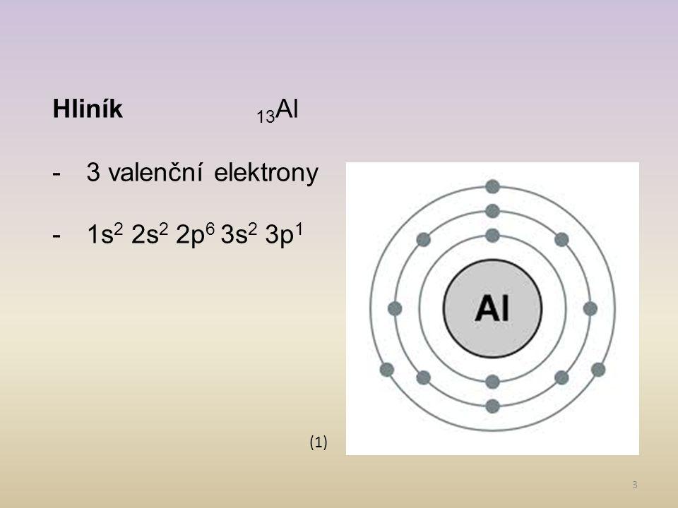 4 Výskyt v přírodě: AlO(OH)bauxit Na 3 AlF 6 kryolit Al 2 O 3 korund Al 2 O 3.SiO 2.2H 2 Okaolinit