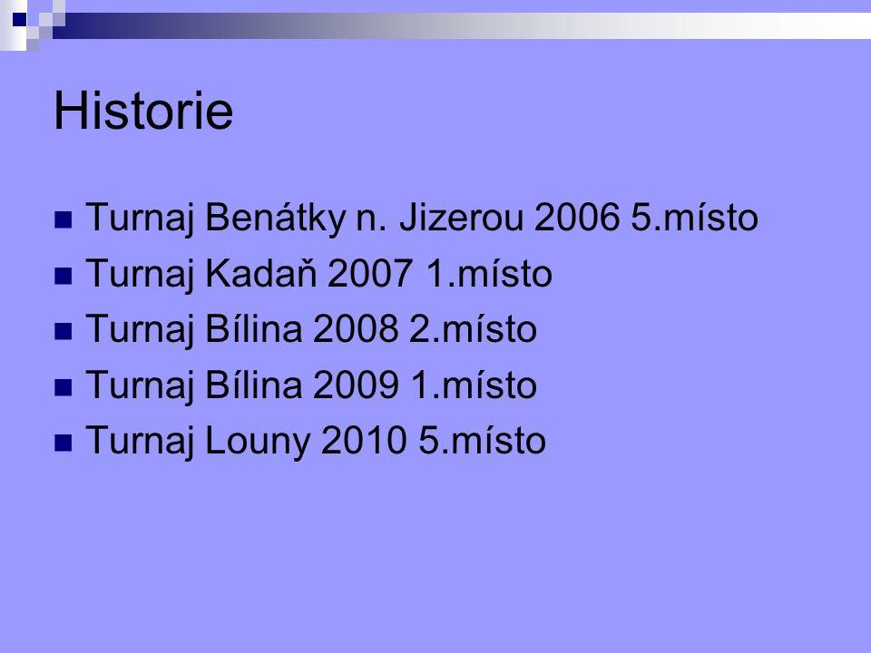 Historie Turnaj Benátky n.