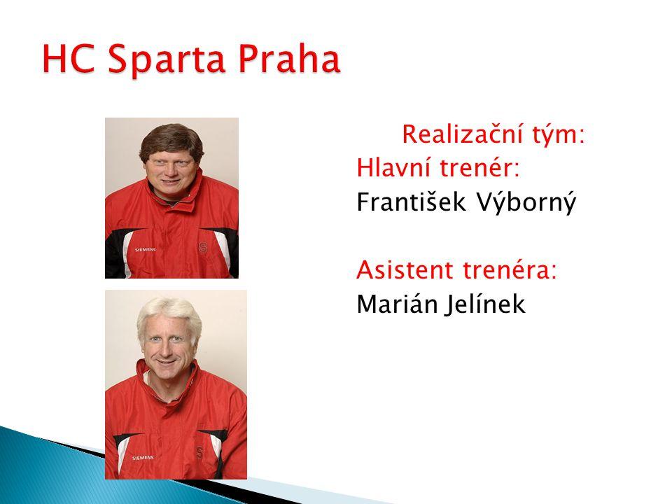 Realizační tým: Hlavní trenér: František Výborný Asistent trenéra: Marián Jelínek