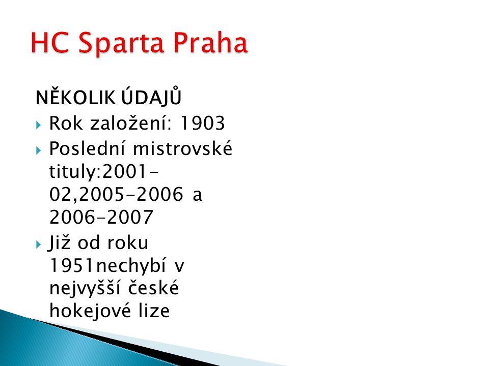 Dnes DERBY!!! HC Sparta Praha x HC Slavia Praha