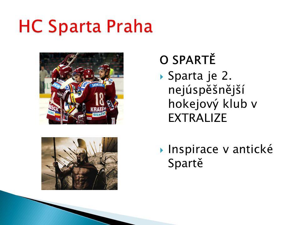 Z HISTORIE KLUBU: -Sparta má celkem 8 titulů mistra republiky -v roce 1964 vyhrála prestižní turnaj Sprengler Cup -v roce 2000 vybojovala v Evropské lize druhé místo
