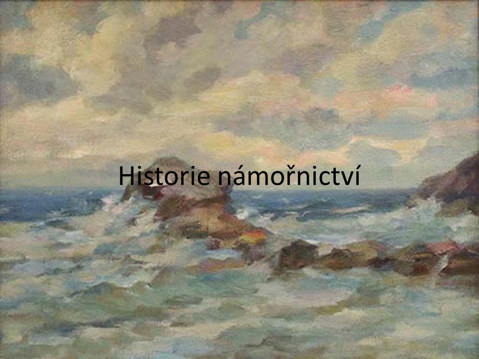 Historie námořnictví