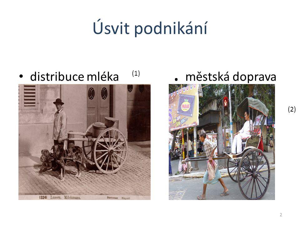 Úsvit podnikání distribuce mléka. městská doprava 2 (1) (2)