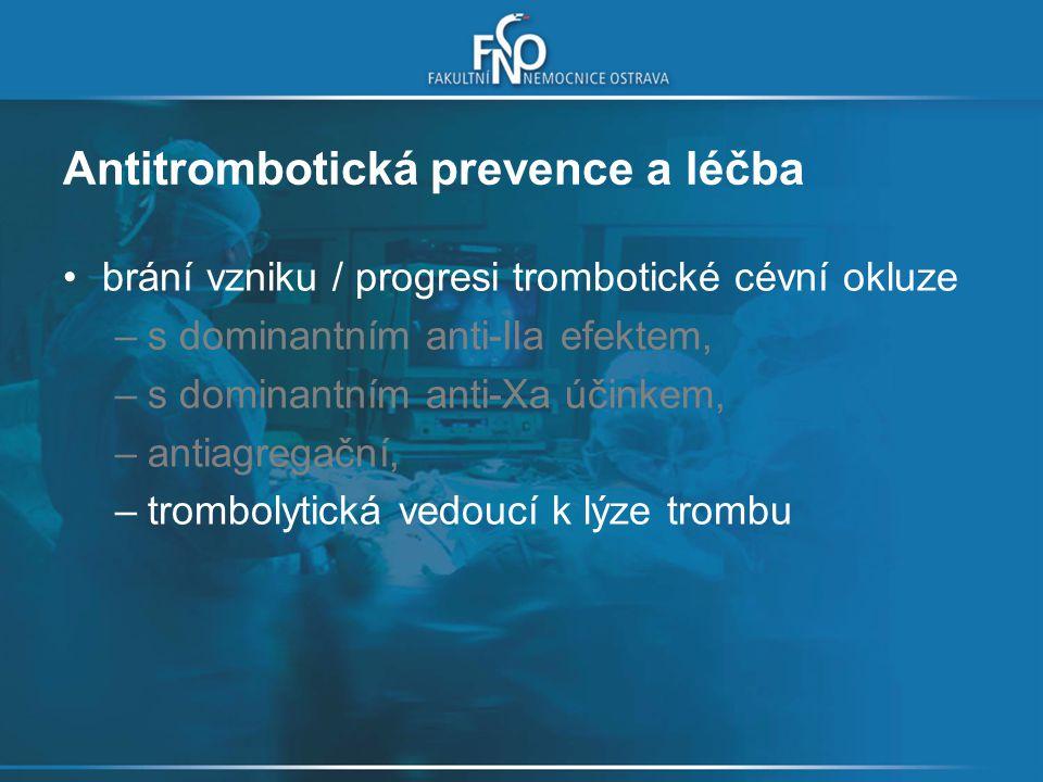 Intracerebrální hemoragie – léčba zhodnocení příčiny a přerušení léčby warfarinem pomalá i.v.