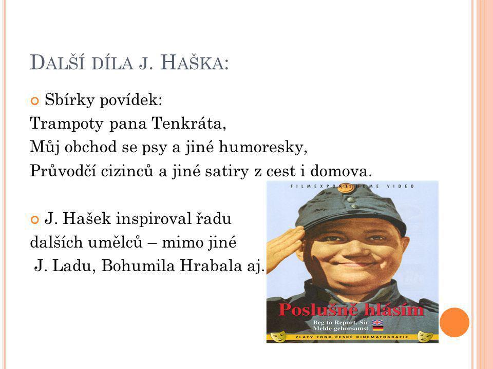 D ALŠÍ DÍLA J.