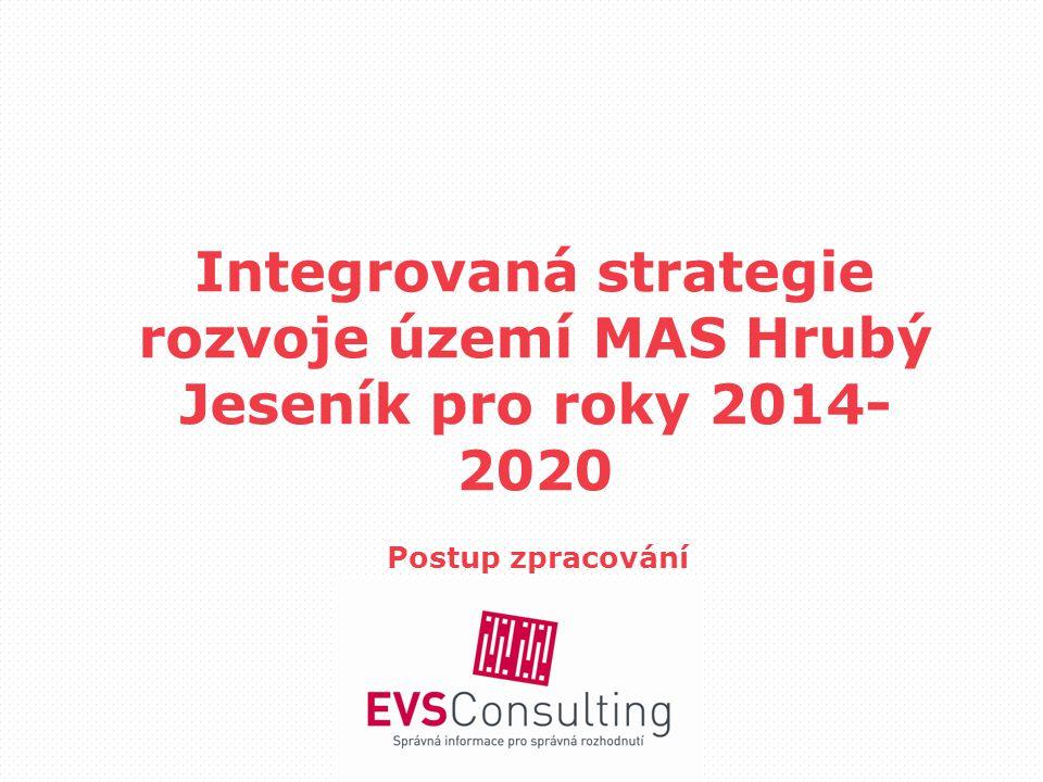 Integrovaná strategie rozvoje území MAS Hrubý Jeseník pro roky 2014- 2020 Postup zpracování