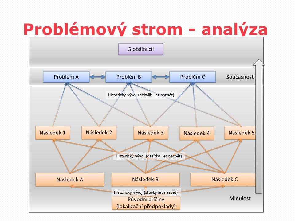 Problémový strom - analýza