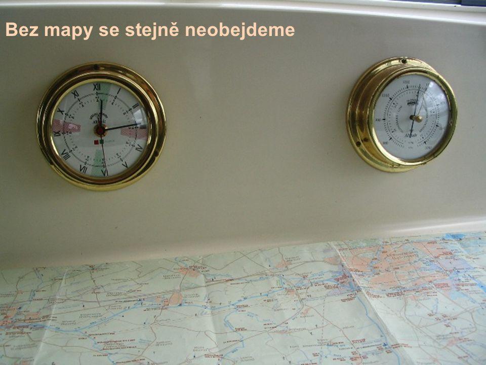 Bez mapy se stejně neobejdeme