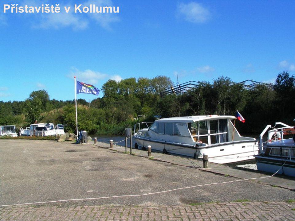Přístaviště v Kollumu