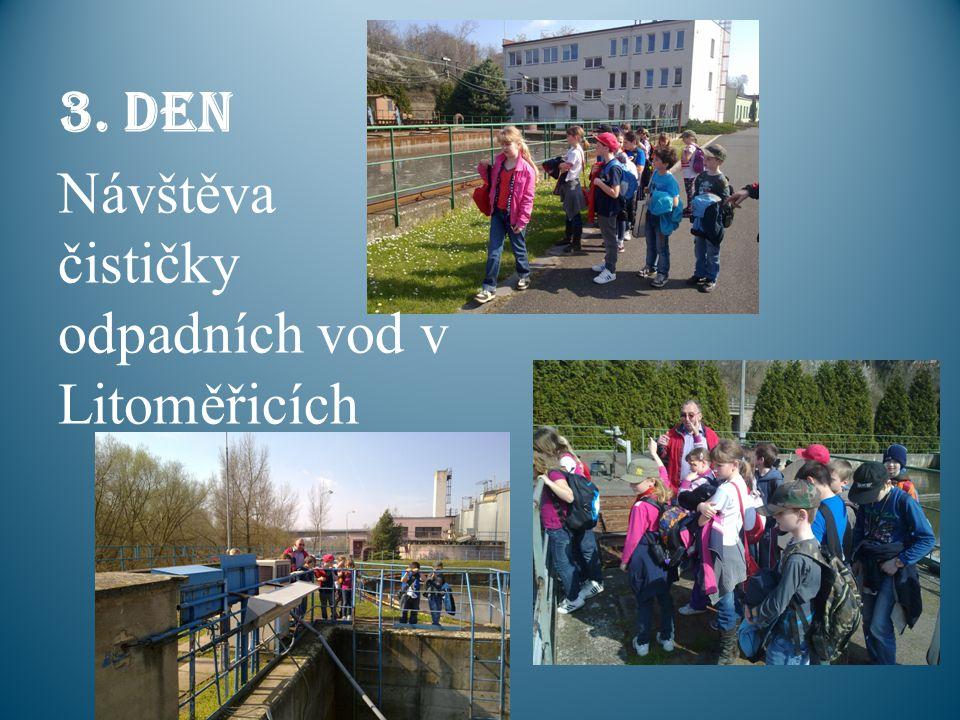 3. den Návštěva čističky odpadních vod v Litoměřicích