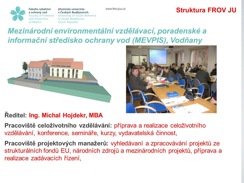 www.frov.jcu.cz Ředitel: Ing.
