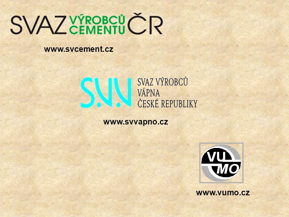 www.svcement.cz www.vumo.cz www.svvapno.cz