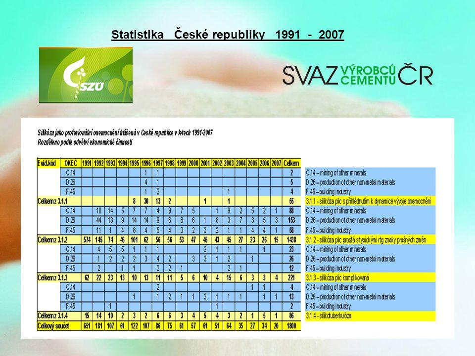 Statistika České republiky 1991 - 2007