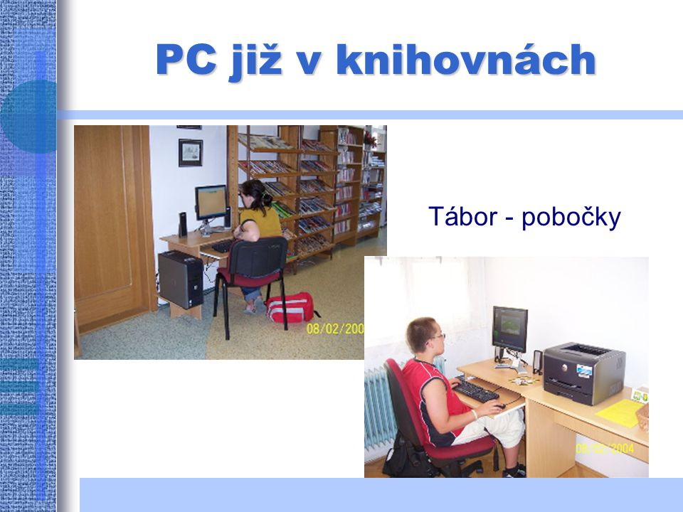 PC v knihovnách: Nová Ves u Č. Budějovic Nákří
