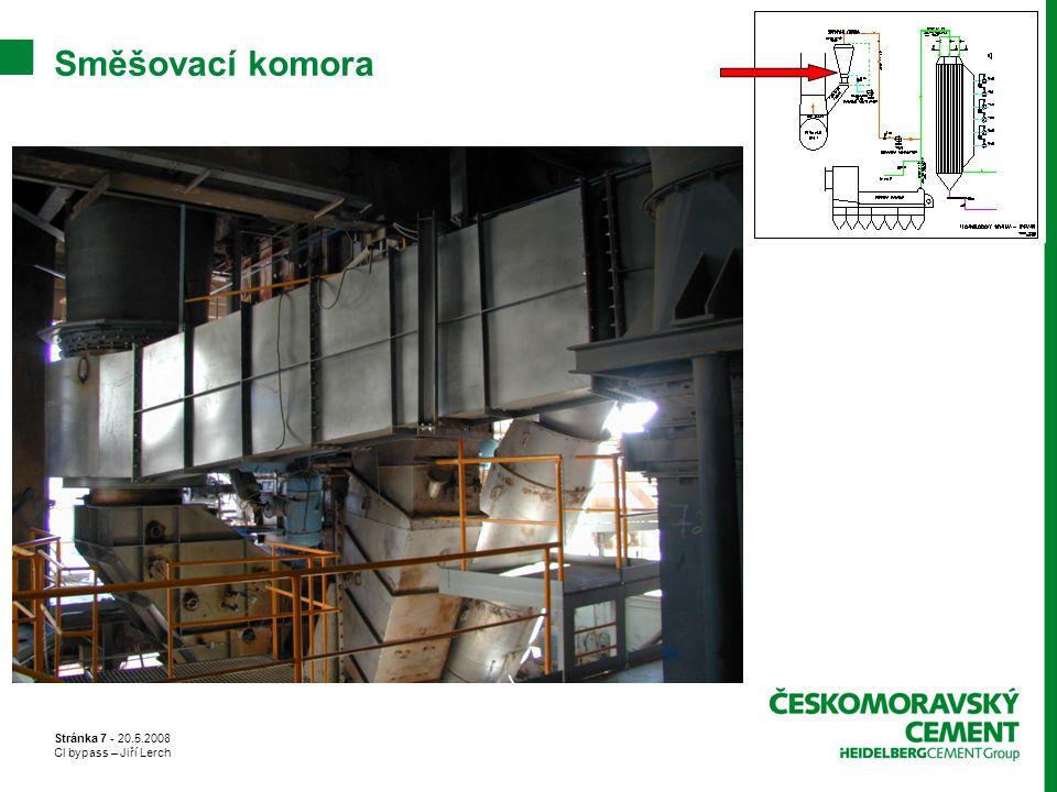 Stránka 7 - 20.5.2008 Cl bypass – Jiří Lerch Směšovací komora