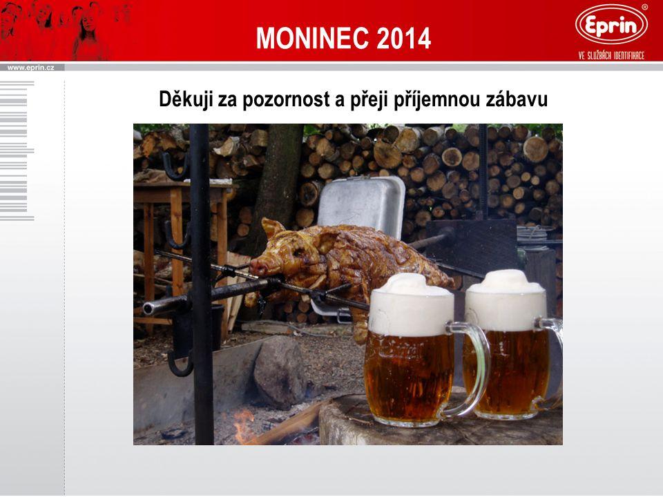 MONINEC 2014 Děkuji za pozornost a přeji příjemnou zábavu
