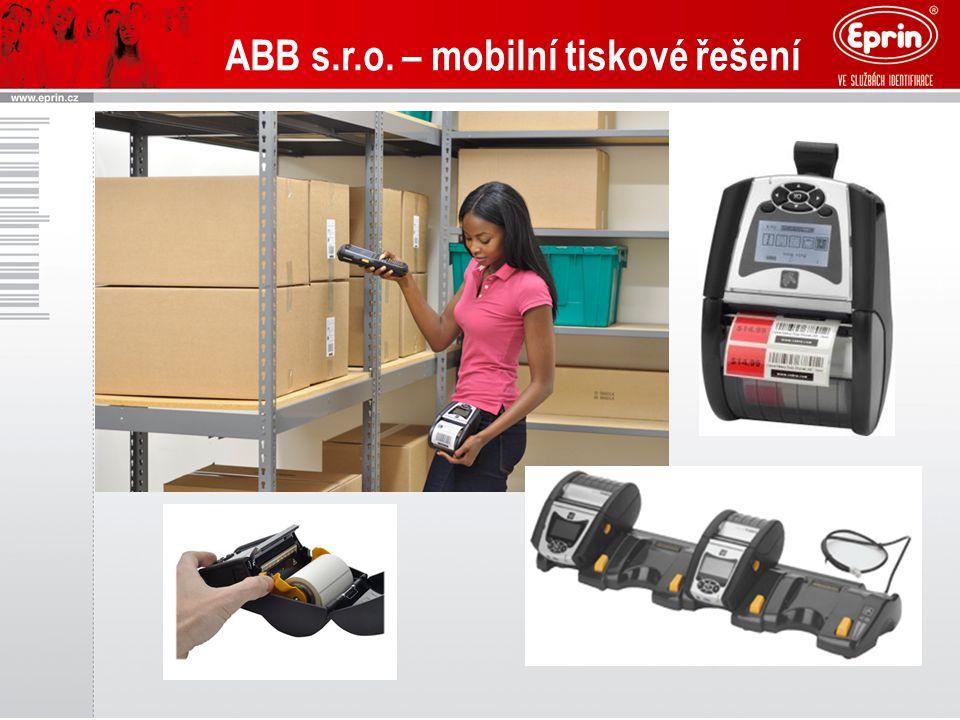 ABB s.r.o. – mobilní tiskové řešení