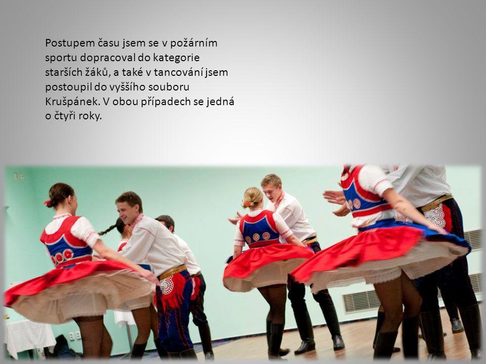 V posledních dvou letech působím ve slováckém souboru Lúčka Svatobořice-Mistřín, kde jsem aktivním členem.