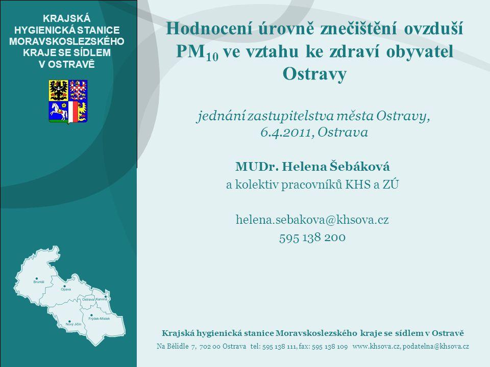 12Krajská hygienická stanice Moravskoslezského kraje se sídlem v Ostravě   www.khsova.cz