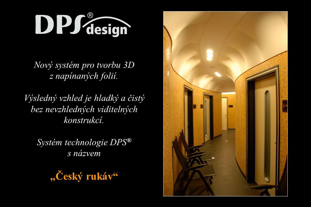 Nový systém pro tvorbu 3D z napínaných folií.